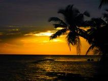 maldivian solnedgång arkivfoton