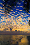 Maldivian Sunset Royalty Free Stock Images