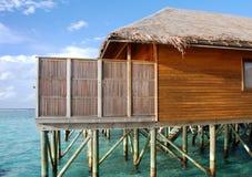 Maldivian Villa Stock Images