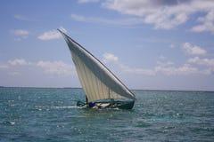 Maldivisk segelbåt Royaltyfria Foton