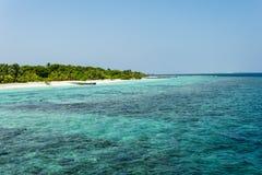 Maldiviskt landskap Royaltyfri Fotografi