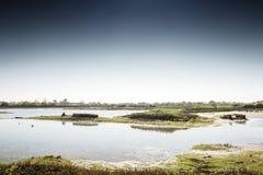 Maldon e heybridge di vista generale Fotografia Stock