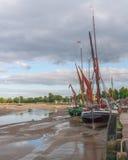 Maldon Essex UK Thames Barge Royalty Free Stock Photos