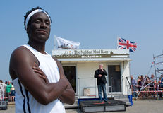Maldon Mud Race 2011 Stock Photo