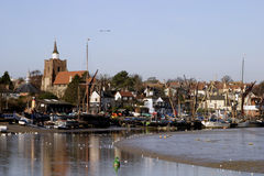 Maldon Riverside Town. Royalty Free Stock Images