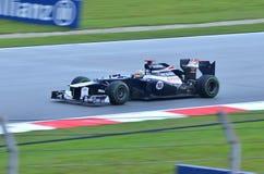 Maldonado, squadra William-Renault Fotografia Stock