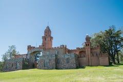 Pittamiglio Castle. MALDONADO, URUGUAY, OCTOBER 6, 2017: A view of Pittamiglio Castle early in the morning in Maldonado, Uruguay on October 6, 2017 Royalty Free Stock Photography
