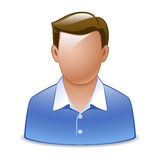 Male. Vector illustration of a male Stock Image