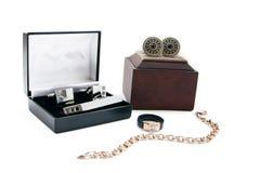 Male accessories Stock Photo