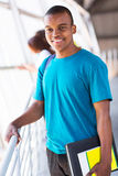 Male african college student Stock Photo