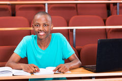 Male african student Stock Photography