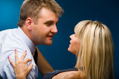 Male And Female Royalty Free Stock Image