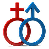 Male And Female Sign Royalty Free Stock Image