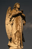 Male Angel Statue Stock Image