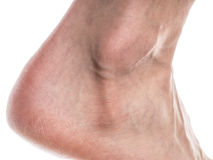 Male ankle Royalty Free Stock Images