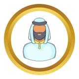 Male arab vector icon Stock Photos