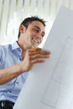 Male architect Stock Image