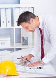 Male architect Stock Images
