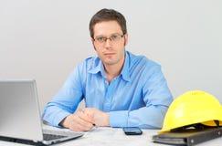 Male architect. Stock Photos