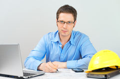 Male architect. Stock Images