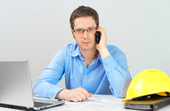 Male architect. Stock Photos