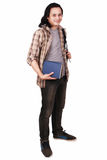 Male Asian Student Smiling Stock Image