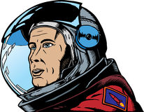 Male Astronaut Royalty Free Stock Image