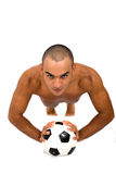 Male athlete Royalty Free Stock Images