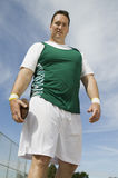 Male Athlete Holding Discus Royalty Free Stock Photo