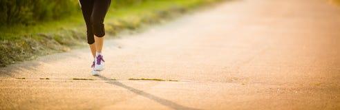 Male athlete/runner running on road Stock Photography