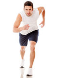 Male athlete running Stock Image