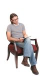 Male author royalty free stock images