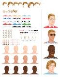 Male avatars Royalty Free Stock Image