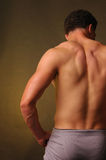 Male Back  Royalty Free Stock Photography