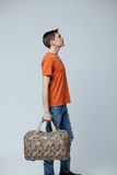 Male with bag Royalty Free Stock Images