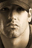 Male in ball cap Stock Images