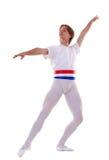 Male ballet dancer Stock Image