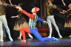 MALE BALLET DANCER Royalty Free Stock Photos