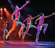 Male ballet performance Stock Photo