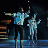 Male ballet performance Royalty Free Stock Image