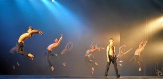 Male ballet performance Stock Photo
