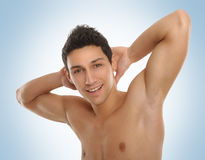 Male beauty portrait Royalty Free Stock Photo