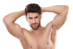 Male beauty Stock Photography