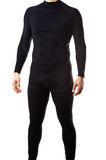 Male black thermal underwear Stock Images