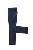 Male blue classical trousers Royalty Free Stock Image
