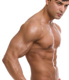 The male body. Stock Photo