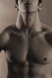 Male body abstract Stock Image