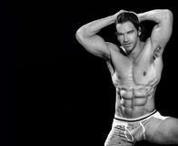 Male bodybuilder Stock Images