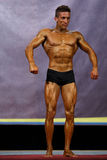 Male bodybuilder at stage Royalty Free Stock Photography