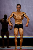 Male bodybuilder at stage Stock Photography